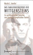 Das Familienged  chtnis der Wittgensteins PDF