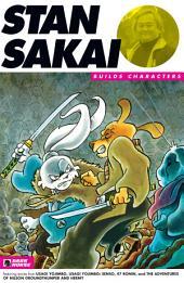 Stan Sakai Builds Characters Sampler