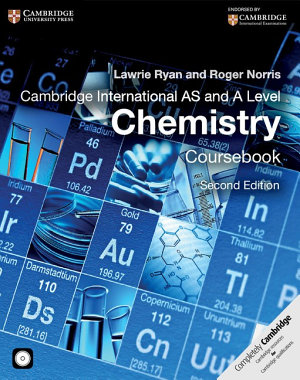 Cambridge International AS and A Level Chemistry Coursebook with CD ROM