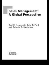 Sales Management: A Global Perspective