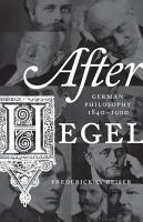 After Hegel PDF