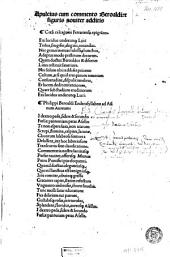 Apuleius cum commento Beroaldi, & figuris nouiter additis