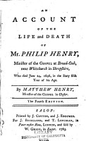 An Account of the Life and Death of Philip Henry     PDF