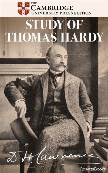Download Study of Thomas Hardy Book