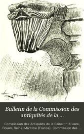 Bulletin de la commission des antiquités e la Seine-Inférieure ...: Volume9