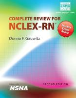 Delmar s Complete Review for NCLEX RN PDF