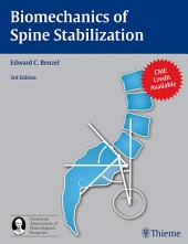 Biomechanics of Spine Stabilization: Edition 3