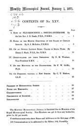 Monthly Microscopical Journal: Transactions of the Royal Microscopical Society, and Record of Histological Research at Home and Abroad, Volumes 5-6