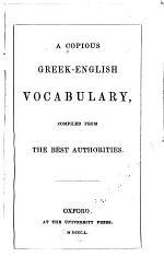 A Copious Greek-English Vocabulary