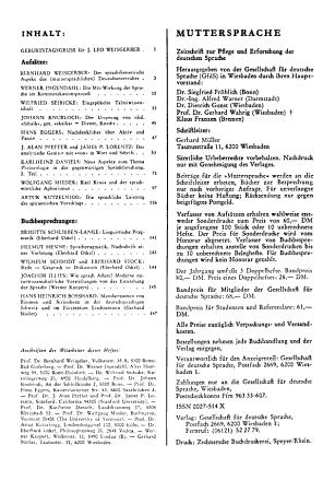 Muttersprache PDF
