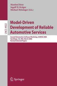 Model Driven Development of Reliable Automotive Services