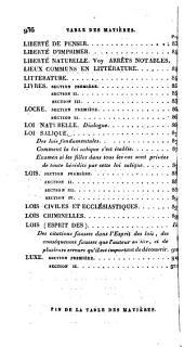 Dictionnaire philosophique: Volumes2à3