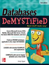 Databases DeMYSTiFieD, 2nd Edition: Edition 2