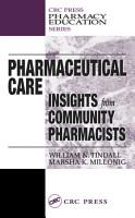 Pharmaceutical Care PDF
