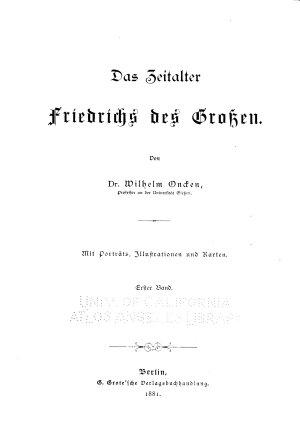 Allgemeine geschichte in einzeldarstellungen PDF