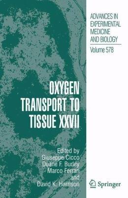 Oxygen Transport to Tissue XXVII PDF