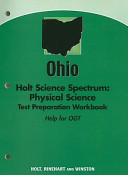 Ohio Holt Science Spectrum  Physical Science Test Preparation Workbook PDF