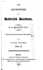 The Adventures of Roderick Random: Volume 2