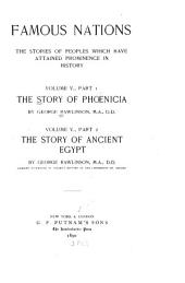 The Story of Phoenicia ; The Story of Ancient Egypt