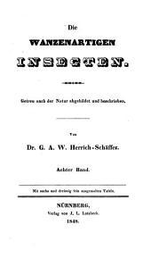 Die wanzenartigen Insecten: Band 8