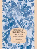 Science and Civilisation in China: Chemistry and chemical technology: pt. 1. Paper and printing