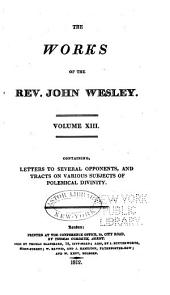 The Works of the Rev. John Wesley: Volume 13