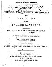 Pronouncing Dictionary of the English Language