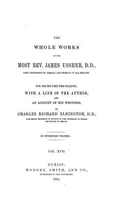 The Whole Works of the Most Rev  James Ussher    PDF