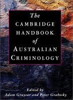 The Cambridge Handbook of Australian Criminology PDF