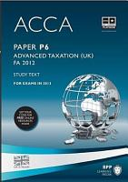 ACCA P6 Advanced Taxation FA2012   Study Text 2013 PDF