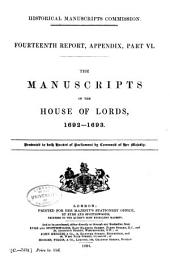 Report of the Royal Commission on Historical Manuscripts: Issue 14, Part 4