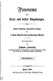 Panorama von Trier und dessen Umgebungen. 5. vollständig umgearb. Aufl. des v. Haupt-Schneider'schen gleichnamigen Werkes