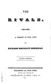The Rivals: A Comedy in Five Acts