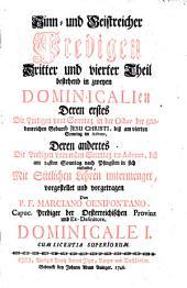 Alte Leyer Auf Ein Neues angestimmet: Dominicale I. 3