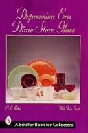 Depression Era Dime Store Glass Book