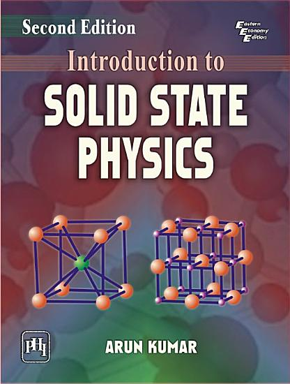 INTRODUCTION TO SOLID STATE PHYSICS  Second Edition PDF