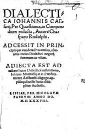 Dialectica Johannis Caesarii