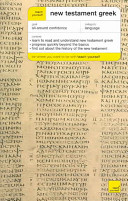 Teach Yourself New Testament Greek Complete Course  Book Only  PDF