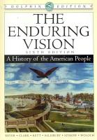 The Enduring Vision  A History of the American People  Dolphin Edition PDF