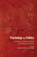 Psychology and Politics PDF