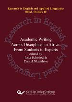 Academic Writing and Research across Disciplines in Africa