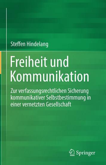 Freiheit und Kommunikation PDF