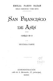 Obras completas: San Francisco de Asís (siglo XIII)
