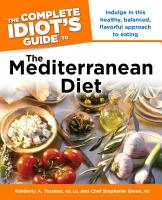 The Complete Idiot s Guide to the Mediterranean Diet PDF