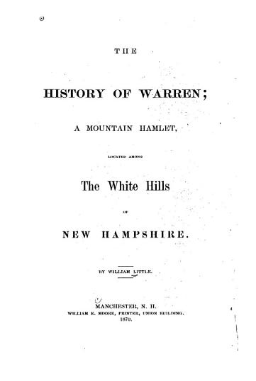 The History of Warren PDF