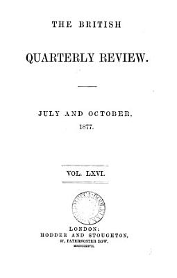 The British Quarterly Review PDF