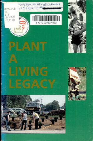Plant a Living Legacy PDF