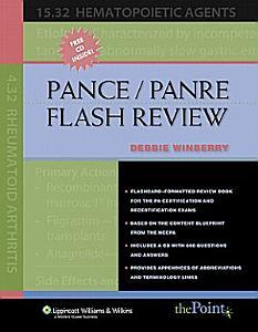 PANCE/PANRE Flash Review Book