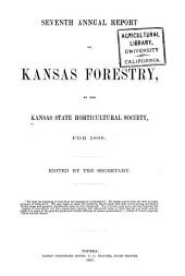 Annual Report on Kansas Forestry