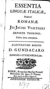 Essentia linguae Italicae moderne Romanae